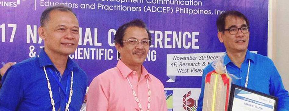 """Time for activist development communication""—AIJC President Tuazon"