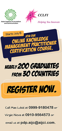 AIJC, CCLFI Offer Online Course for Knowledge Management Certification