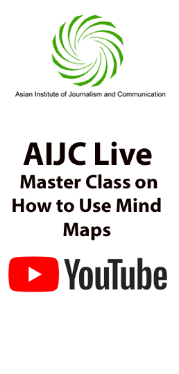 AIJC Live Master Class on How to Use Mind Maps