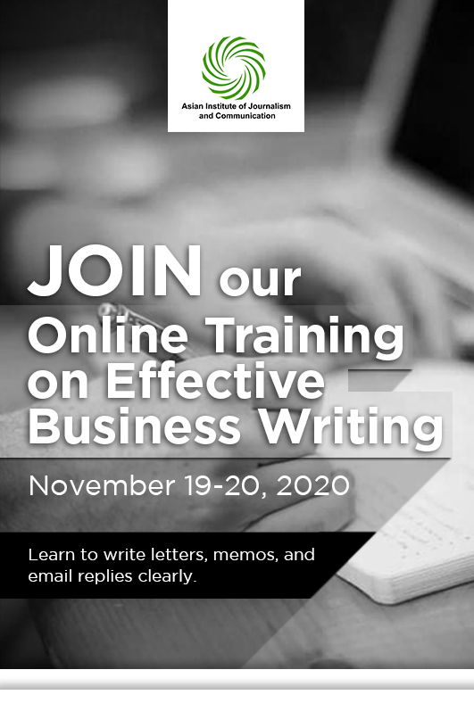 Online Training on Effective Business Writing