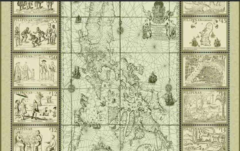 'Mother of all Philippine Maps' now on postage stamp