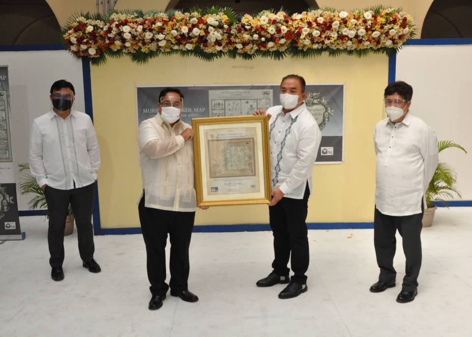 PHLPost launches 'Murillo Velarde 1734 Map' postage stamps