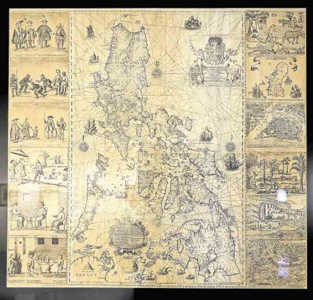 Map that debunked China's historical sea claims featured in new maritime