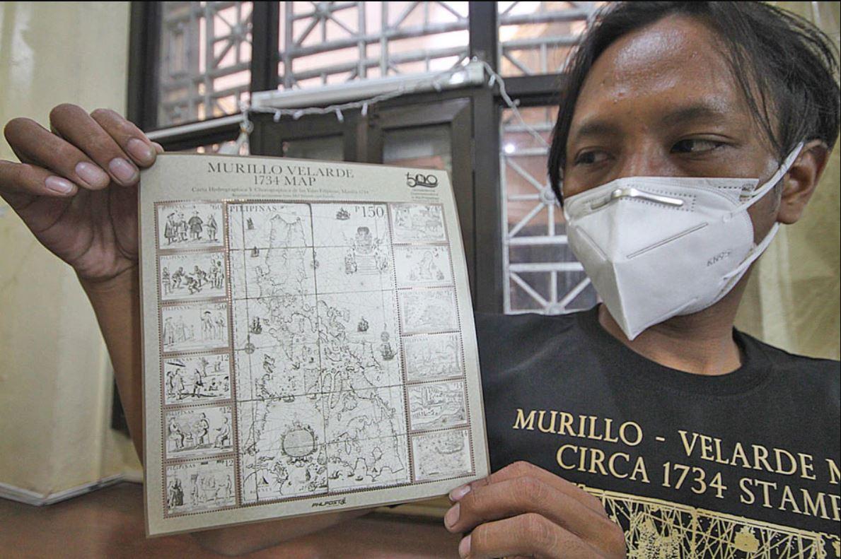 "PhilPost launches ""1734 Murillo Velarde map"" stamp"